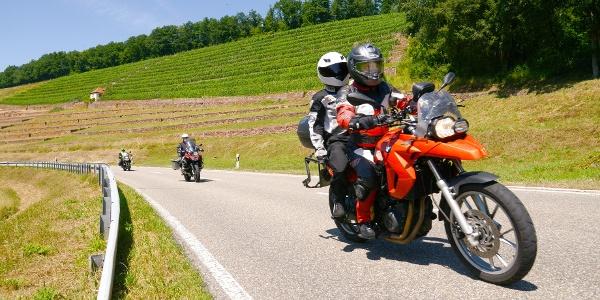 Genusstour auf dem Motorrad durchs Liebliche Taubertal