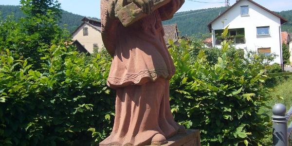 Nepomuk-Statue an der Morrebrücke, Hettigenbeuern