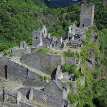 Der Eifelsteig: 12 Etappe, Manderscheid - Kloster Himmerod