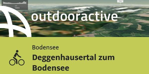 Radtour am Bodensee: Deggenhausertal zum Bodensee
