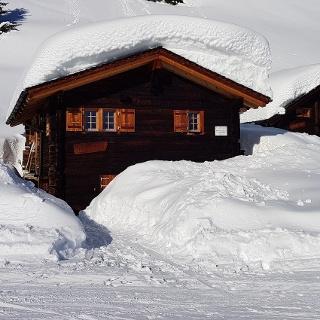 Schneeschuhwanderung Fiesch - Heimatt - Fiescheralp