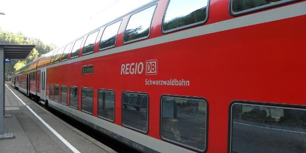 Schwarzwaldbahn in Triberg