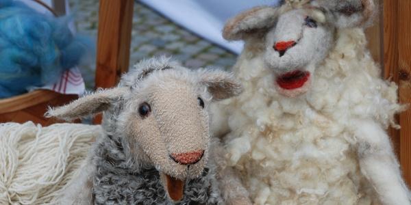 Wollmarkt Bad Berleburg Puppen