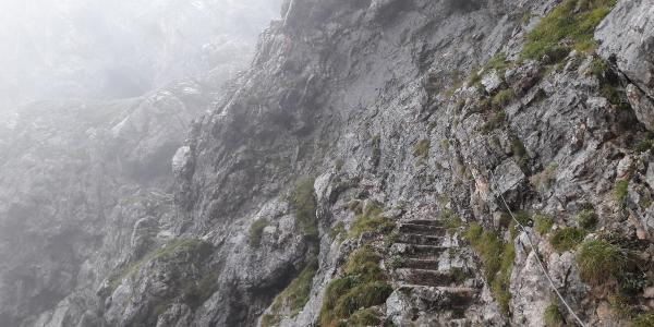 Abstieg nach dem Riemannhaus