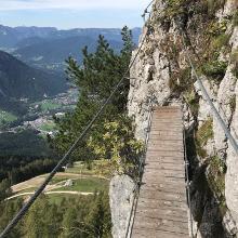 Hängebrücke am Schützensteig