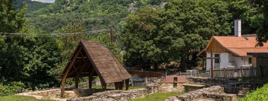 Ruins of Pauline Monastery at Klastrompuszta