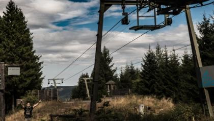 die Bergstation des Sternrodt-Skilift