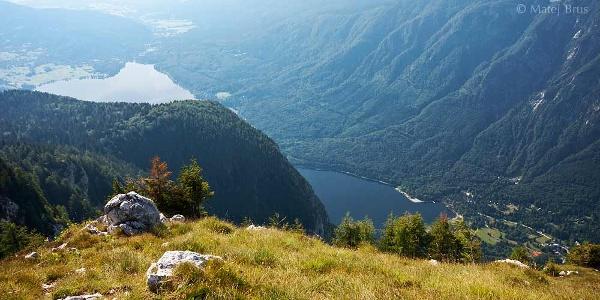 On top of Pršivec