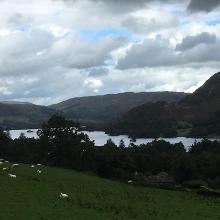 Ullswater in the distance