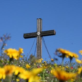 Gipfelkreuz der Hohen Veitsch