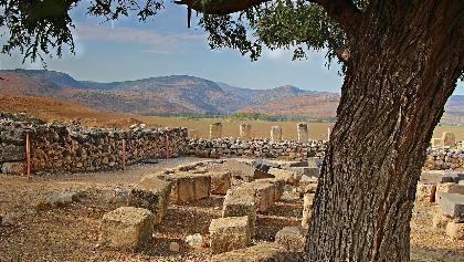 הגן הלאומי תל חצור