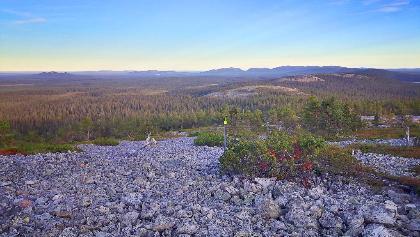 Ukko-Luosto-Fjell