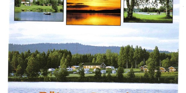 The camping site in Rätan