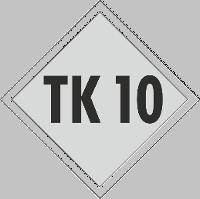 Schild Terrainkurweg 10