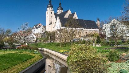 St. Johannis-Kirche und Komturhof Plauen