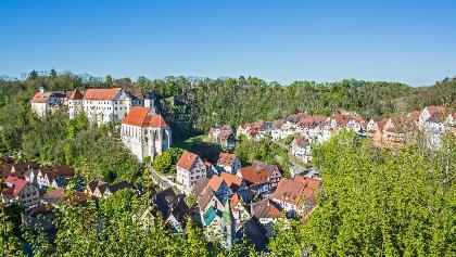 Schloß Haigerloch und Unterstadt