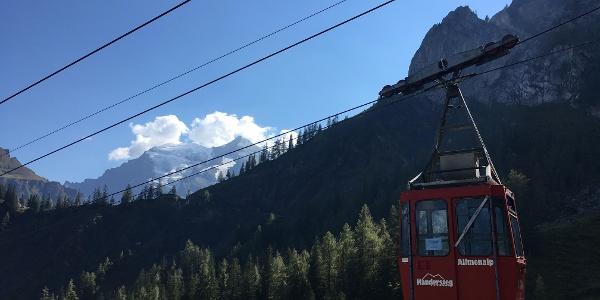 The Allmenalp-Kandersteg cable car