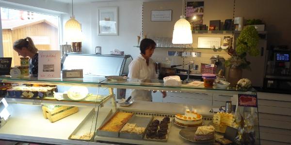 Im Café Am Markt