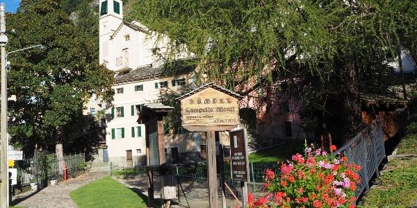 Posto Tappa (1. Etage der alten Scuola)