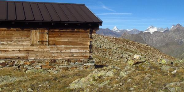 Biwak Penne Nere mit Matterhorn