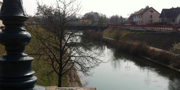 Kanal in Huninguen