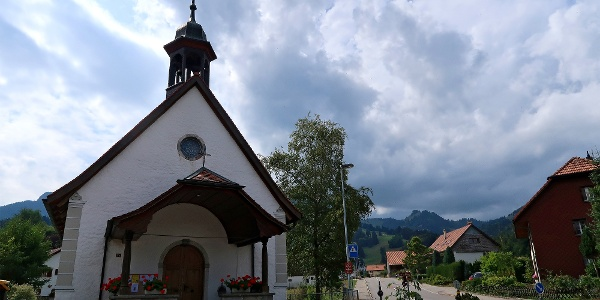 Kirche Sainte Agathe in Pringy.