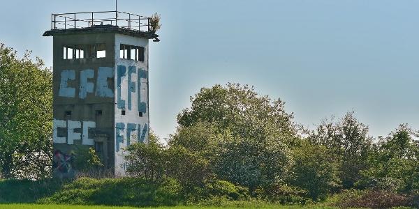 letzter Grenzturm am ICT im Vogtland