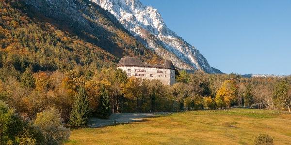 Herbst an Schloss Staufeneck