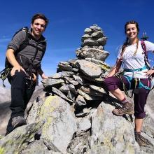 Gipfel Tulpspitze