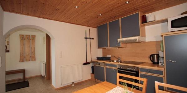 Küche Ferienwohnung Haus Anja