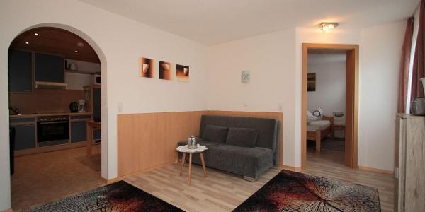 Wohnzimmer Ferienwohnung Haus Anja