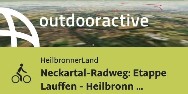Radtour in Nördliches Baden-Württemberg: Neckartal-Radweg: Etappe Lauffen - Heilbronn - Gundelsheim