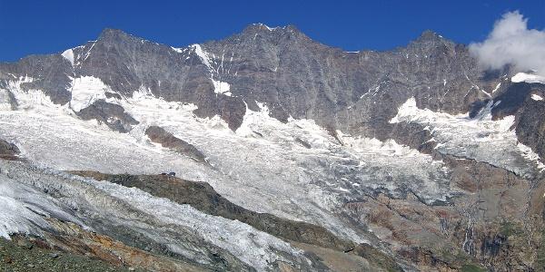 Panorama über Saas-Fee.