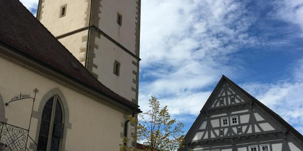 Kirchplatz in Stetten