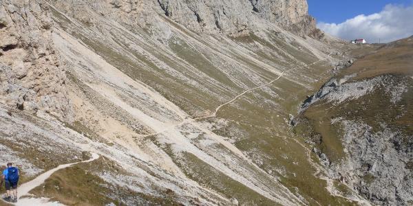 Am Weg zur Tierser Alp