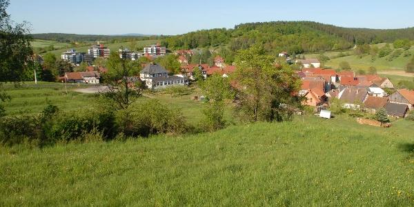 Blick auf Bad Colberg