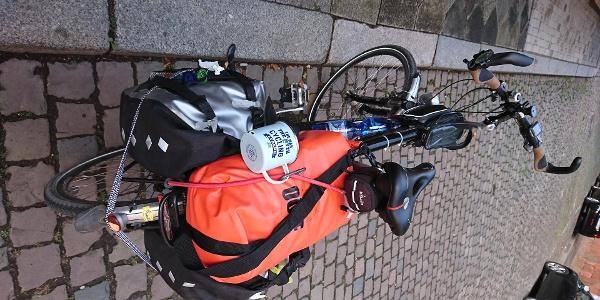 Mein Rad am Startpunkt