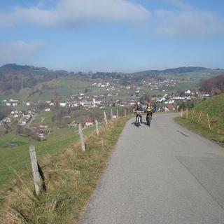 Dorf Plasselb