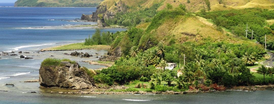 Küstenlinie auf Guam