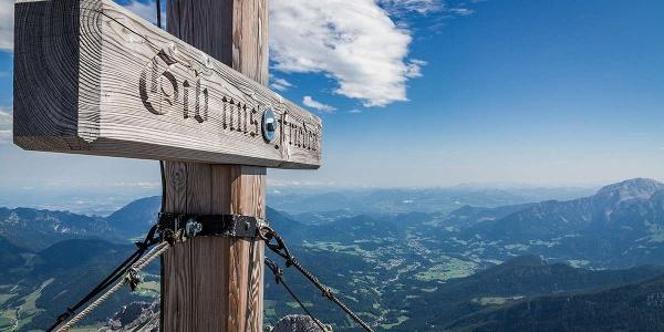 Gipfelkreuz Hochkalter