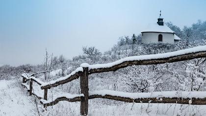Kleine Kalmit im Schnee
