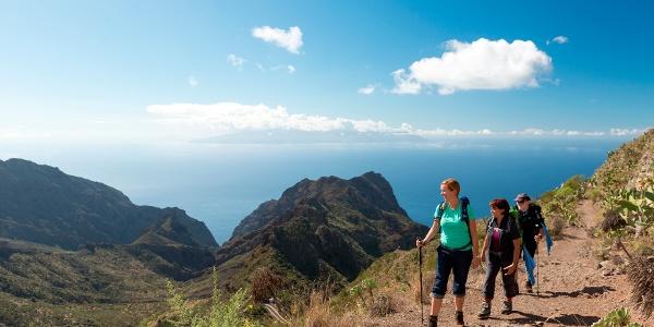 Teneriffa - Wanderung im Teno-Gebirge
