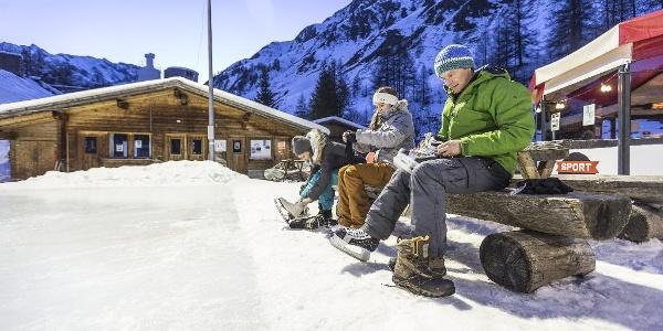 Eisplatz Samnaun-Ravaisch