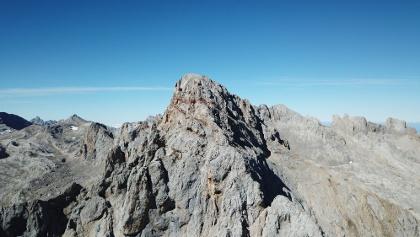 Imágen aérea del Peña Vieja