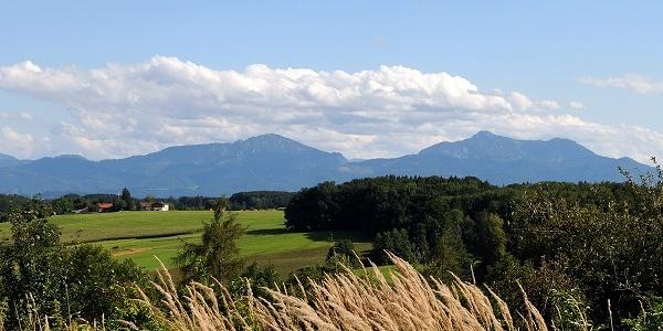 Chiemgau Alpenpanorama