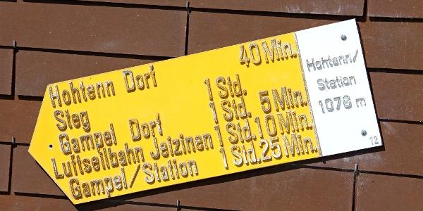 Hohtenn Station.