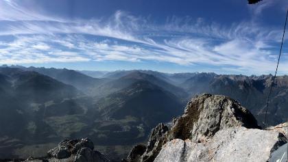 Gipfelpanorama am 19.10.18