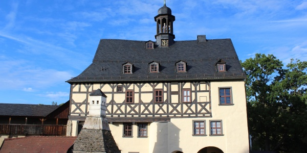 Das Torhaus von Schloss Burgk