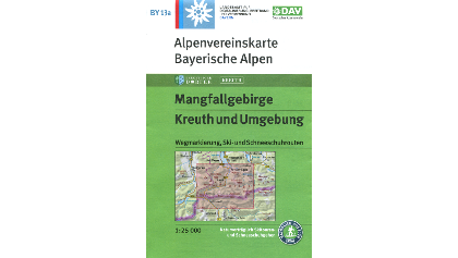 Titelbild BY 13a Mangfallgebirge, Kreuth und Umgebung