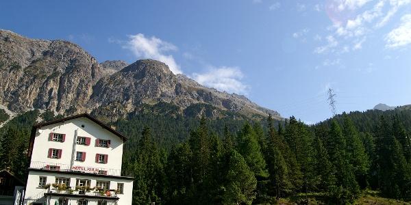 Hotel Preda Kulm.